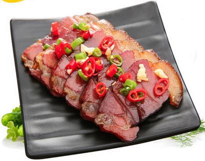 湖南特产    农家自制风味烟熏咸肉  500g包邮
