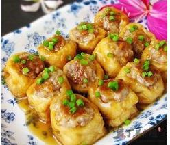 湖南农家自制油豆腐泡 油炸香辣豆腐片 纯手工空心油豆腐