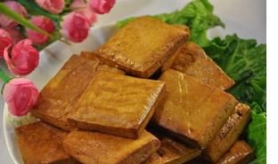 豆腐干五香豆腐干  农家美食家常小吃非转基因大豆 500克