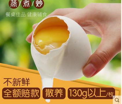 6枚装 鹅蛋 单枚125-150g左右 农家散养 新鲜 大正宗