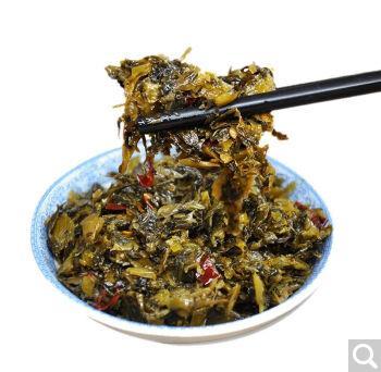 老坛酸菜  下饭菜 湖南特产开胃拌面   湖南特产 下饭菜500g