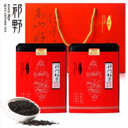 正宗安徽祁门红茶 新茶春茶 特级红香螺 祁红红茶茶叶