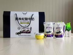 圣湖 酸奶青海酸奶青海黑枸杞酸牛奶 180gx10袋  高原牧场纯鲜奶发酵与野生黑枸杞的搭配结合