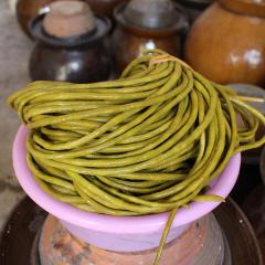 湖南特产农家自制酸豆角泡豇豆自然发酵无添加老坛酸菜下饭菜500g
