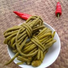 酸豆角500g湖南衡阳特产农家自制泡菜酸腌豆角子开胃菜满二斤包邮
