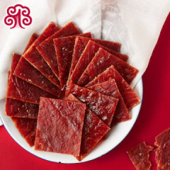 壹食壹品靖江原味猪肉脯蜜汁江苏特产猪肉猪肉铺正宗袋包装500g