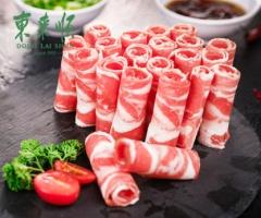 东来顺羊肉卷500g内蒙羊肉新鲜涮羊肉火锅食材羊肉片羊肉卷火锅