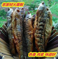 永州特产祁阳小鱼干火焙渔民自制材火熏烤500克