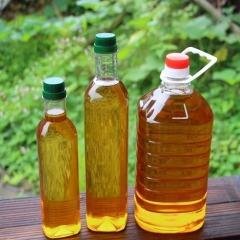 2016新茶油农家自榨100%纯度正宗野山茶油茶籽油物理压榨500G