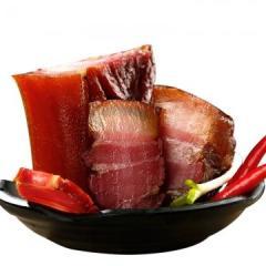 正宗祁东烟熏腊肉湖南柴火烟熏肉 祁东土猪制作 土产腊肉500g