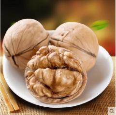 18年新货新疆纸皮核桃薄壳熟核桃山核桃味500g年货坚果零食特产