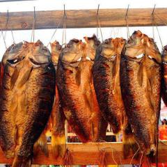 湖南特色特产农家自制腌腊鱼风干鱼块鱼干腊味草鱼干货500g
